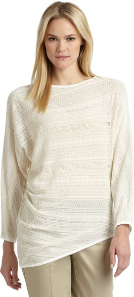 Thakoon Addition Lacy Knit Asymmetrical Top - Lyst