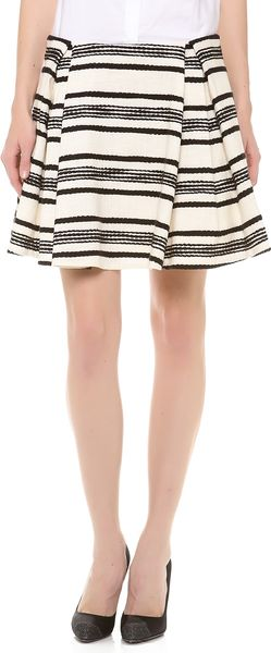 Thakoon Pleated Skirt - Lyst