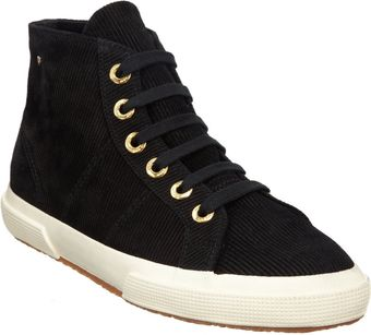 The Row Suede Corduroy High-Top Sneaker - Lyst