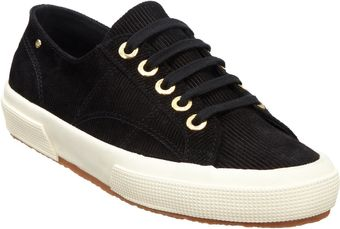 The Row Suede Corduroy Low-Top Sneaker - Lyst