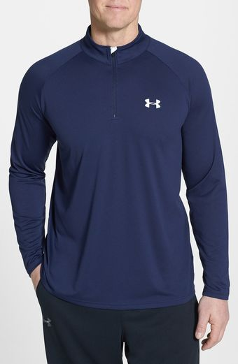 Under Armour Tech Quarter Zip Pullover - Lyst
