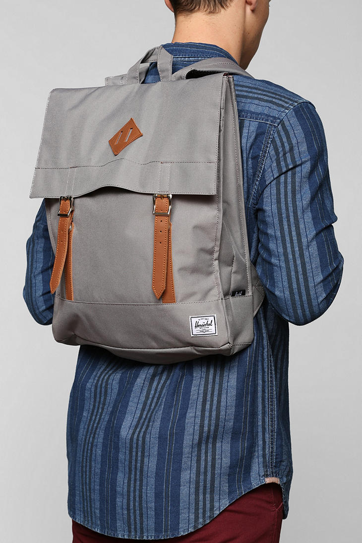 Lyst - Urban Outfitters Herschel Supply Co Survey Backpack in Gray ... 2d5174e6b878a