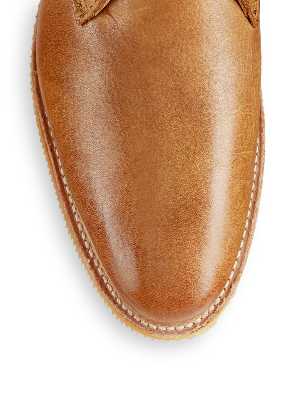Lyst Walk Over Nashville Leather Chukka Boots In Brown