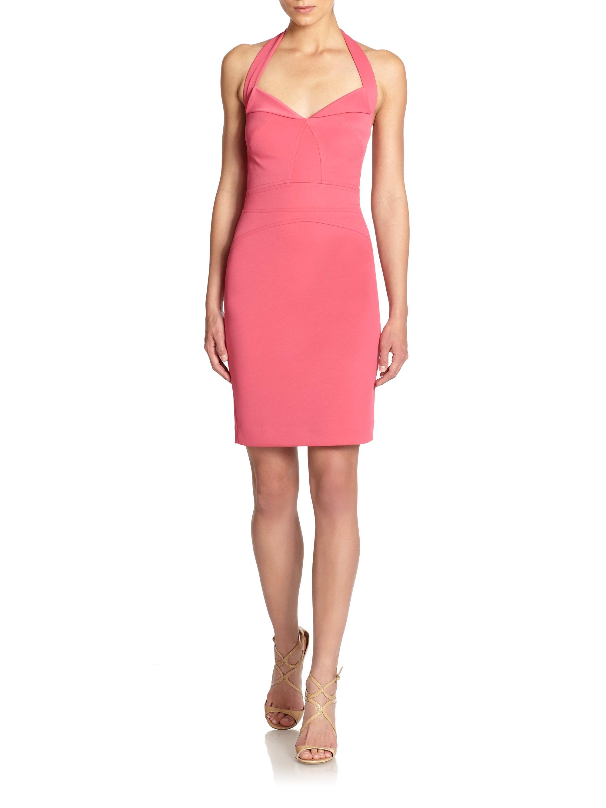Pink Halter Dresses