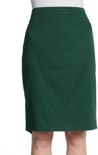Zac Posen Pencil Skirt - Lyst
