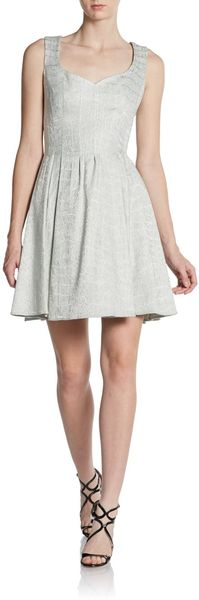 Zac Posen Sleeveless Sweetheart Cocktail Dress - Lyst