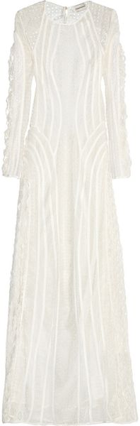 Zimmermann Good Love Crocheted Lace Maxi Dress - Lyst