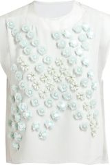 3.1 Phillip Lim Embellished Dandelion Crop Top - Lyst