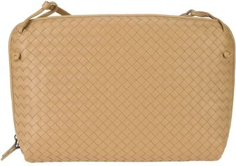Bottega Veneta Intreciatto Laptop Bag - Lyst