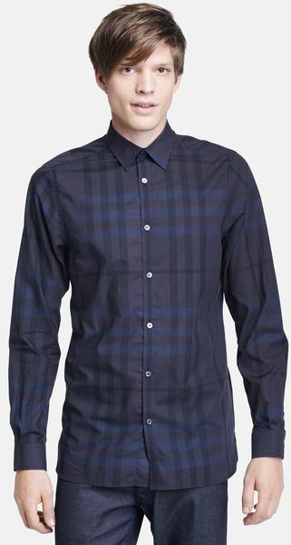 Burberry Pembury Plaid Sport Shirt - Lyst