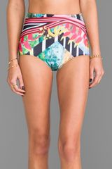 Clover Canyon Tobacco Fields Bathing Suit Bottom  - Lyst