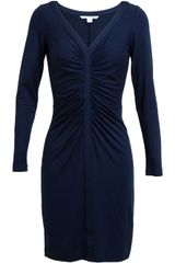 Diane Von Furstenberg Greece Stretch Jersey Dress - Lyst