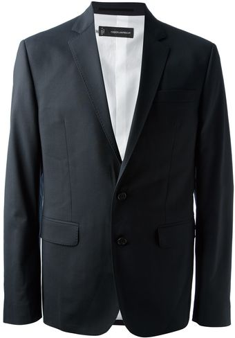 DSquared2 Fitted Blazer - Lyst
