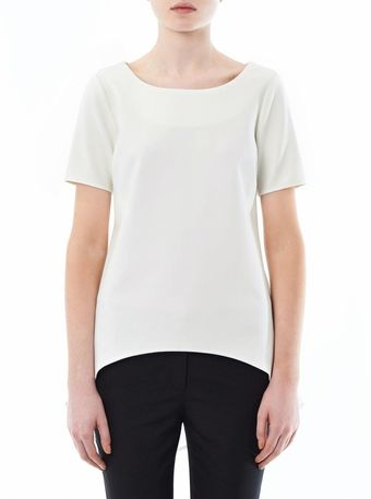 Elizabeth And James Waterfall Back Blouse - Lyst