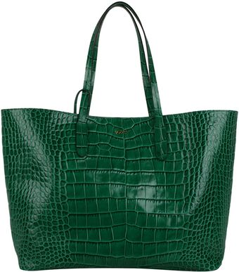 Emilio Pucci Shopper Tote Bag with Croc Print - Lyst