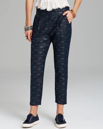 Free People Pants Easy Pleat - Lyst