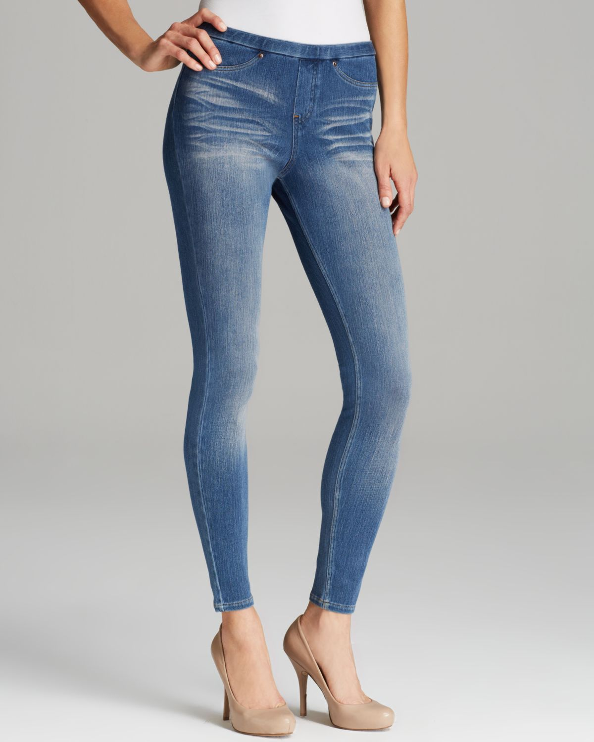 HUE R) Essential Denim Leggings Terrain