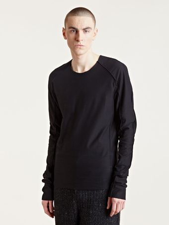 Individual Sentiments Mens Woven Long Sleeved T-shirt - Lyst