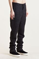 Individual Sentiments Mens Woven Low Crotch Pants - Lyst