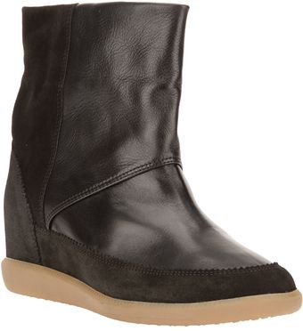 Isabel Marant Concealed Wedge Ankle Boot - Lyst