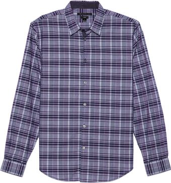 John Varvatos Turnback Placket Sport Shirt - Lyst