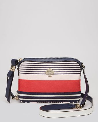 Kate Spade Mini Bag Highliner Stripe Clover - Lyst