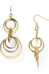 Lauren by Ralph Lauren Round Hill Orbital Drop Earrings - Lyst