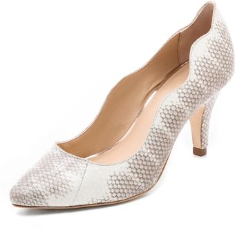 Loeffler Randall Tilda Scalloped Pumps - Lyst