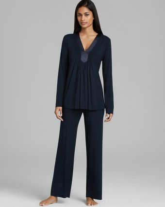 Midnight By Carole Hochman Midnight Kiss Pajama Set - Lyst