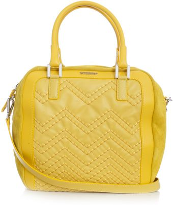 Missoni Suede and Leather Zz Bag - Lyst