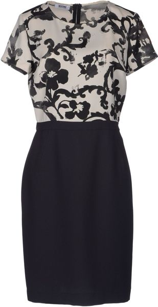 Moschino Cheap & Chic Kneelength Dress - Lyst