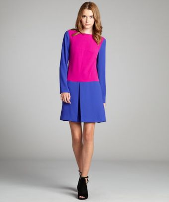 Rachel Roy Begonia and Regal Color Block Triangle Drop Waist Dress - Lyst