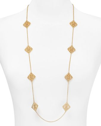 Ralph Lauren Lauren Lovely Lace Chain Necklace 40 - Lyst