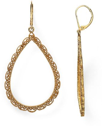 Ralph Lauren Lauren Lovely Lace Teardrop Earrings - Lyst
