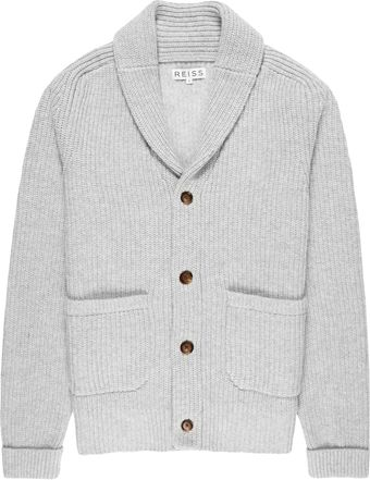 Reiss Drive Button Through Cardi - Lyst