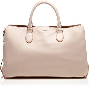 Rochas Leather Tote Bag - Lyst