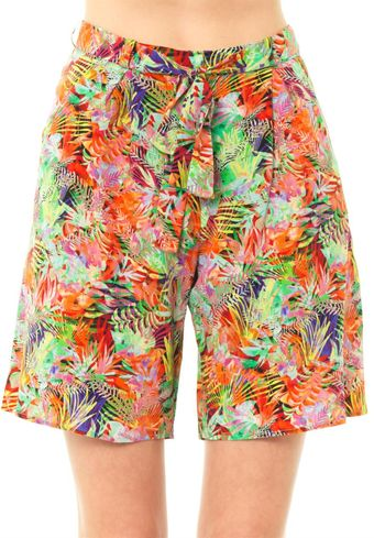 Saloni Loretta Jungle Print Shorts - Lyst