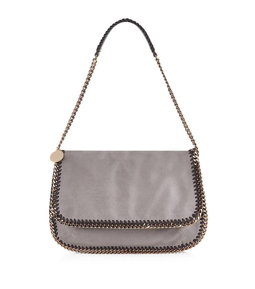 Stella mccartney Falabella Small Shoulder Bag in Gray