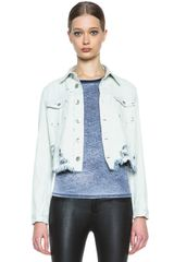 Theyskens' Theory Jenja Denim Jacket - Lyst