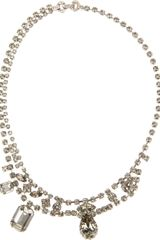 Tom Binns Crystal Embellished Necklace - Lyst