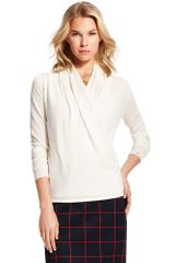 Tommy Hilfiger Crossover Sweater - Lyst