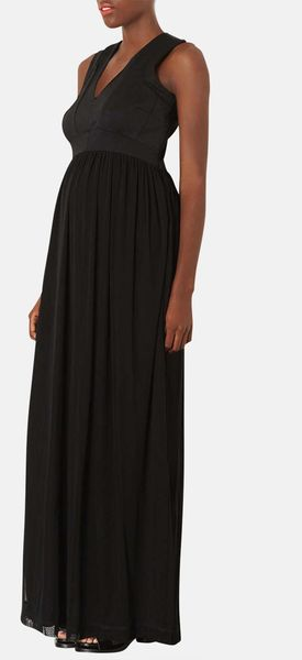Topshop Maxi Maternity Dress - Lyst