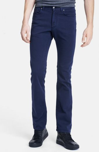 Versace Skinny Fit Colored Denim Jeans - Lyst
