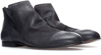 Zara Distressed Ankle Boot - Lyst