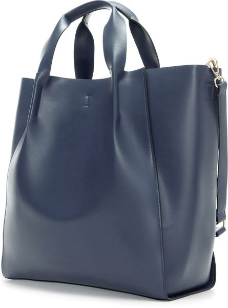 Zara Shopper Bag in Blue (Navy blue)