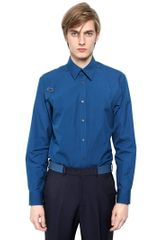 Alexander McQueen Stretch Cotton Poplin Harness Shirt - Lyst