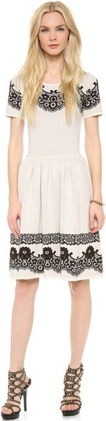 Alice By Temperley Short Sleeve Wisp Dress - Lyst