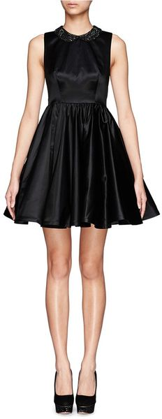 Alice + Olivia Lollie Flowy Dress - Lyst