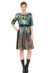Antonio Marras Silk Twill Dress - Lyst
