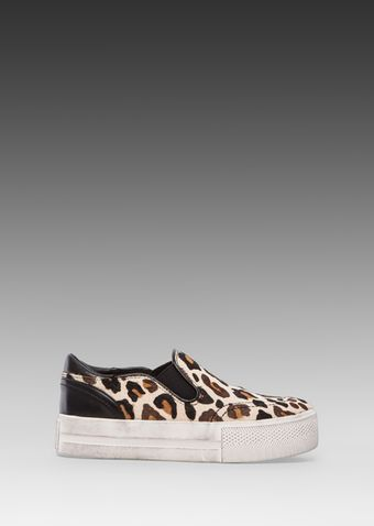 Ash Jungle Slipon in Cream - Lyst